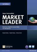 Market Leader 3rd Edition Upper-Intermediate Coursebook and DVD-ROM Pack with MyEnglishLab