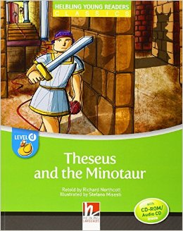 Helbling Young Readers Level D: Theseus and the Minotaur with CD-ROM/audio CD