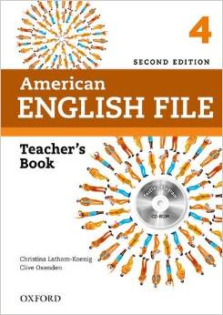 American English File Second edition Level 4 Teacher's Book with Testing Program CD-ROM