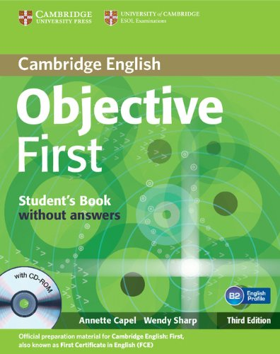 Objective First 3rd Edition Student's Book without answers with CD-ROM