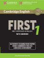 Cambridge English First 1 (for revised exam 2015)