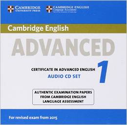 Cambridge English Advanced 1 (for revised exam 2015) Audio CDs (2)