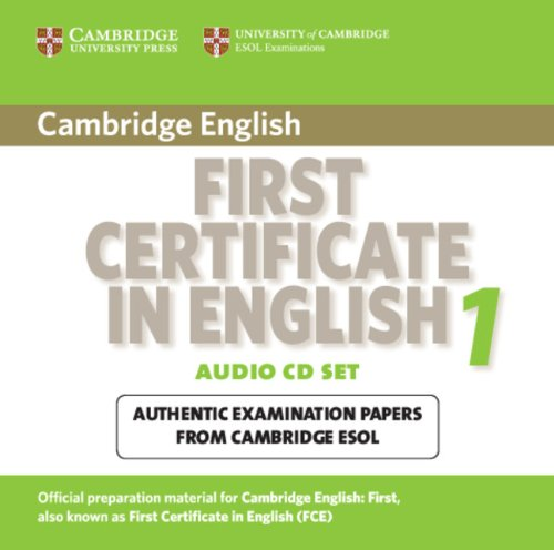 Cambridge First Certificate in English 1 for updated exam Audio CDs (2) (Лицензия)