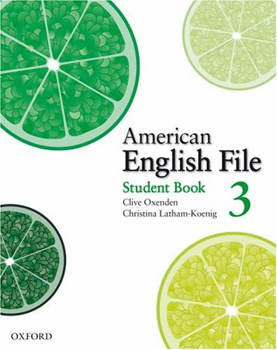 American English File 3 Student Book