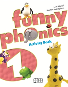 Funny Phonics 1 Activity Book with Audio CD/CD-ROM