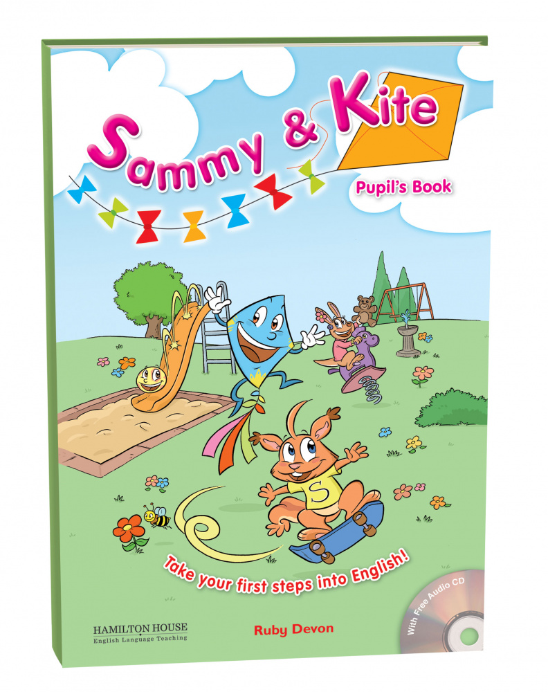 Sammy and Kite Pupil's Book + Audio CD and Stickers