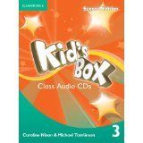 Kid's Box Second Edition 3 Class Audio CDs (4) (Лицензия)