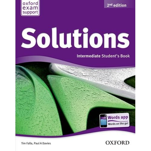 Solutions Second Edition Intermediate Student Book