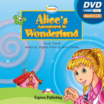 Showtime Readers  Level 1 Alice's Adventures in Wonderland  multi-ROM (Audio CD / DVD Video PAL)