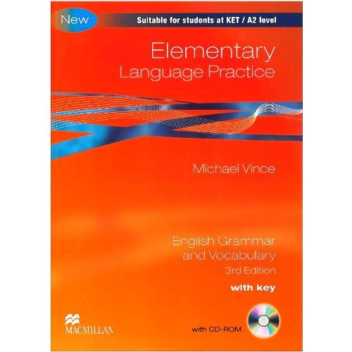 Elementary Language Practice Student's Book with Key + CD-ROM Pack