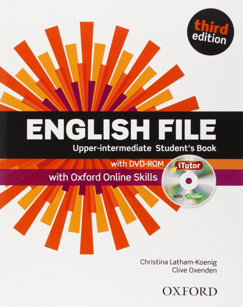 English File Third Edition Upper-Intermediate Student's Book with iTutor & Online Skills