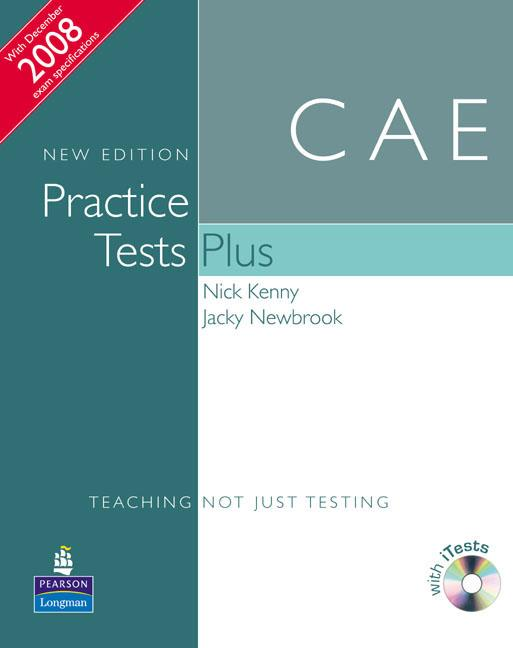 CAE Practice Tests Plus New Edition Students Book without Key, iTest CD ROM and Audio CD