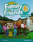 Family and Friends Second Edition 6 Class Book with Student's Site