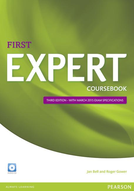 Expert First Third Edition Coursebook with Audio CD