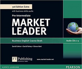 Market Leader 3rd Edition Extra Pre-Intermediate Class CDs (3)