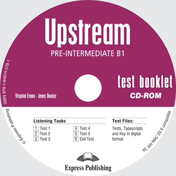 Upstream Pre-Intermediate B1 Test Booklet CD-ROM
