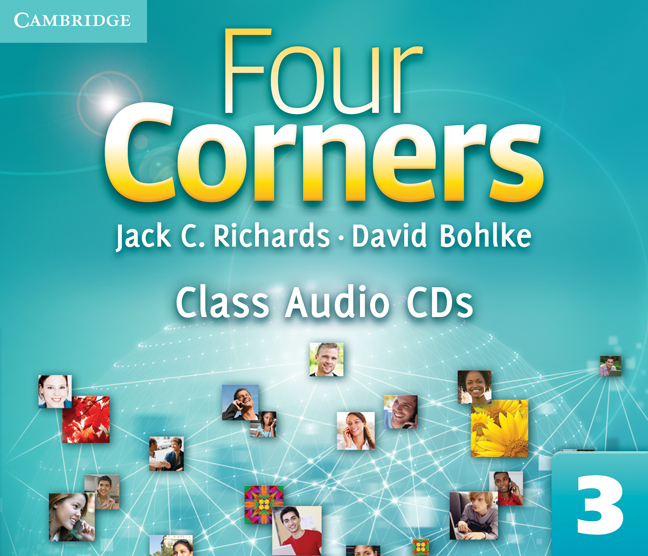 Four Corners Level 3 Class Audio CDs (3)