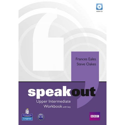 Speakout Upper-Intermediate Workbook with key and Audio CD