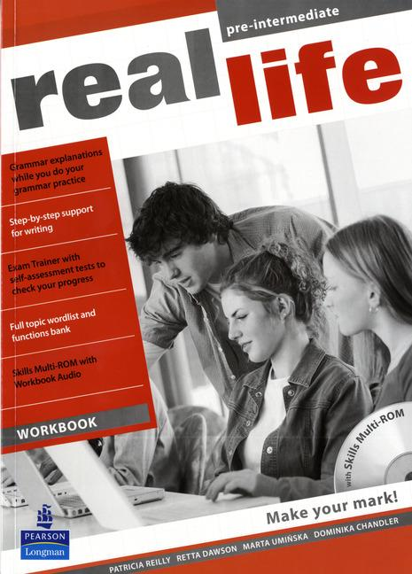 Real Life Pre-intermediate Workbook & Multi-ROM (includes Workbook audio)