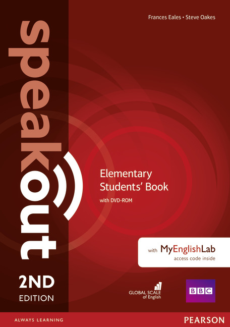 Speakout Second Edition Elementary Students' Book with DVD & MyEnglishLab
