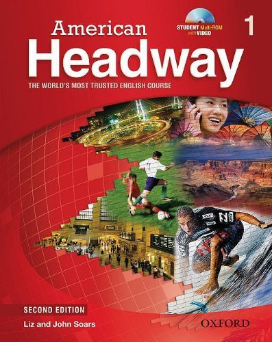 American Headway Second Edition 1 Student Book with Student Practice MultiROM
