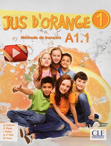 Jus d'orange 1 - Livre d'eleve + DVD