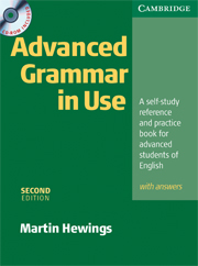 Advanced Grammar in Use 2nd Edition Book with answers and CD-ROM