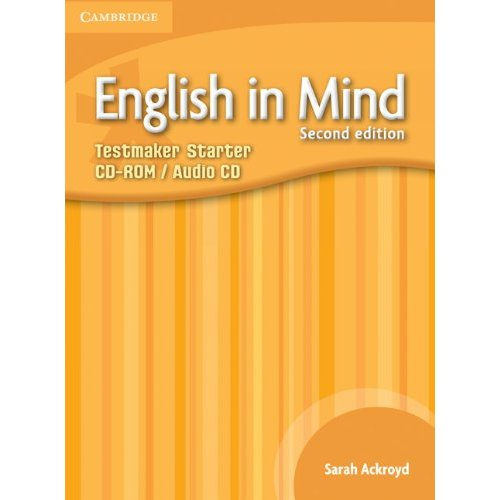 English in Mind (Second Edition) Starter Testmaker Audio CD/CD-ROM