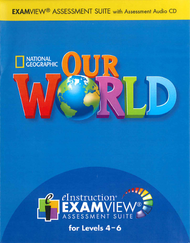 Our World 4-6 ExamView CD-ROM
