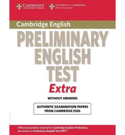 Cambridge Preliminary English Test Extra Student's Book