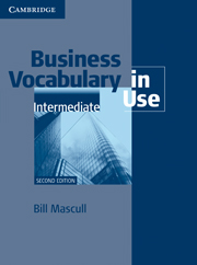 Business Vocabulary in Use: Intermediate (Second Edition) Book with answers