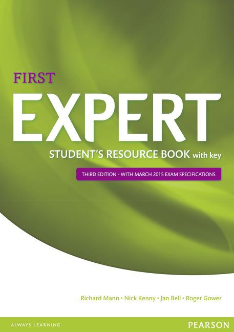 Expert First Third Edition Student's Resource Book with Key