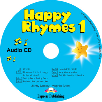 Happy Rhymes 1 Story Book Audio CD