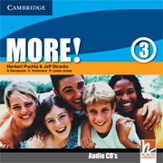 More! Level 3 Class Audio CDs (2) (Лицензия)