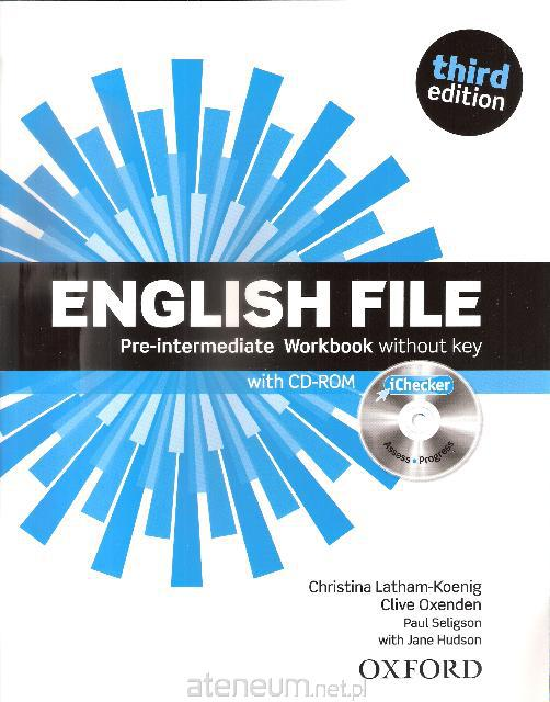 English File Third Edition Pre-Intermediate Workbook without key and iChecker
