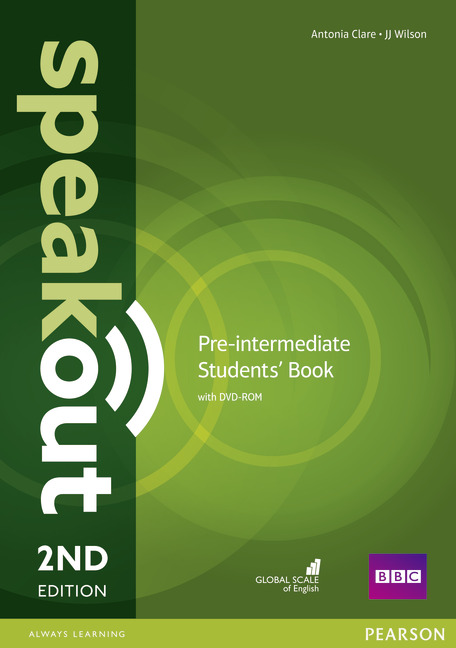 Speakout Second Edition Pre-Intermediate Students' Book with DVD