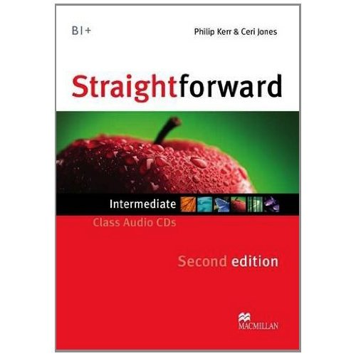 Straightforward (Second Edition) Intermediate Class Audio CDs (Лицензия)
