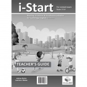 Cambridge YLE Starters I-START - 2018 Format - Teacher's edition with CD & Teacher's Guide + CD