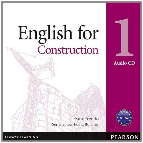 Vocational English Level 1 (Elementary) English for Construction Audio CD