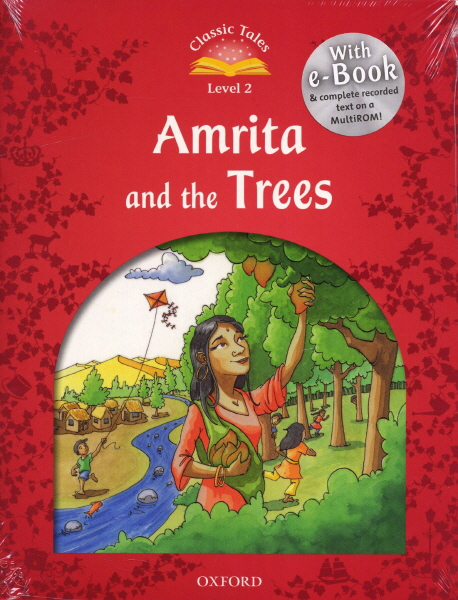 Classic Tales Second Edition: Level 2: Amrita and the Trees  e-Book with Audio Pack