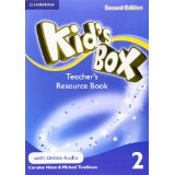 Kid's Box Second Edition 2 Teacher's Resource Book with Online Audio