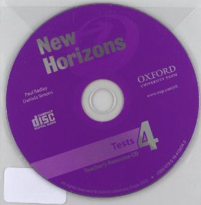 New Horizons 4 Tests CD-ROM