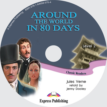 Classic Readers Level 2 Around the World in 80 Days Audio CD