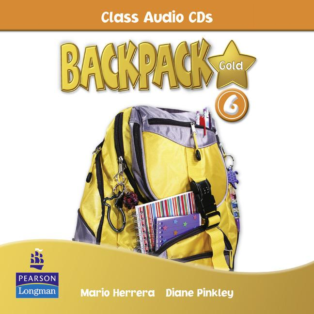 Backpack Gold Level 6 Class Audio CD