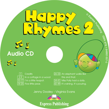 Happy Rhymes 2 Story Book Audio CD