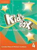 Kid's Box Second Edition 4 Class Audio CDs (3)