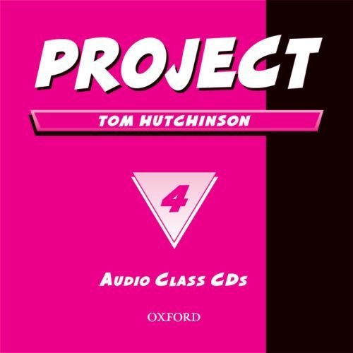 Project 4 Second Edition Class Audio CDs (2)