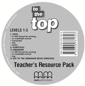 To the Top 1 - 3 Teacher's Resource CD/CD-ROM