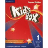Kid's Box Second Edition 1 Activity Book with Online Resources