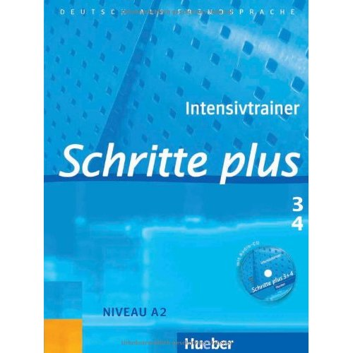 Schritte plus 3+4 Intensivtrainer mit Audio-CD